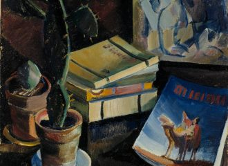 Books on Table / Aalto, Ilmari (Quelle: Europeana)