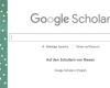 Recherche-Tipp #4: Die wissenschaftliche Suchmaschine Google Scholar